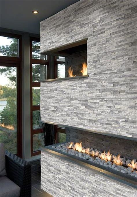 sognareala grey ledgerstacked stone panels sognare tile