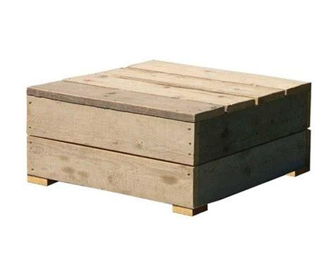 salontafel fruitkistjes salontafel met het model van een vierkante kist gemaakt
