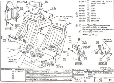 C5 Corvette Power Seat Wiring Diagram by Seat Belt Removal Need Help Corvette Forum