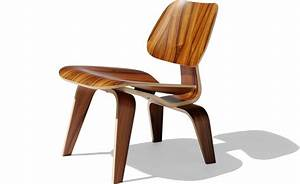 Eamesr molded plywood lounge chair lcw hivemoderncom for Eames wooden chair