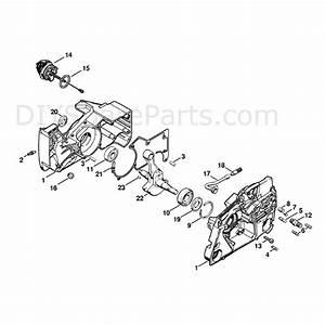 Stihl Ms 880 Chainsaw  Ms880  Parts Diagram  Crankcase