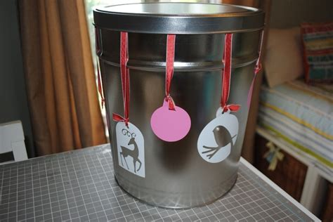 popcorn tins repurpose renew redo reuse