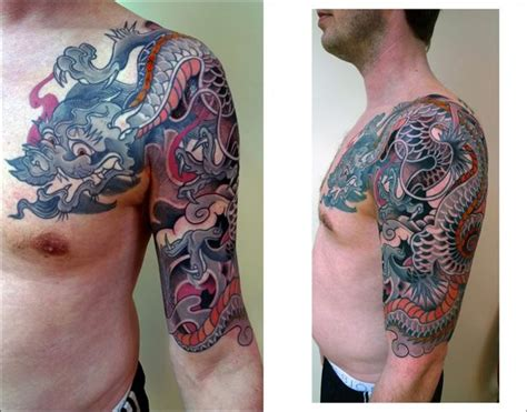 Japanese Dragon Tattoo On Arm » Tattoo Ideas
