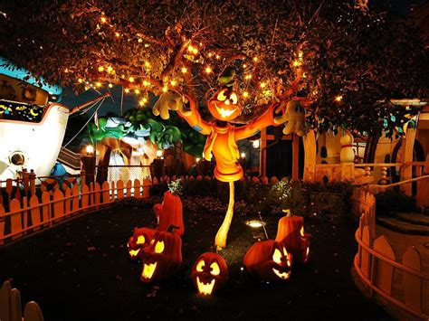 awesome ideas of creepy cool outdoor decorations entertainmentmesh