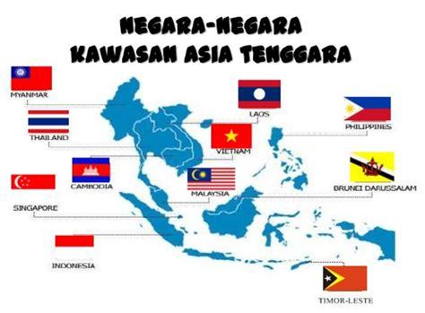 negara asia tenggara  ibukotanya lengkap fakta
