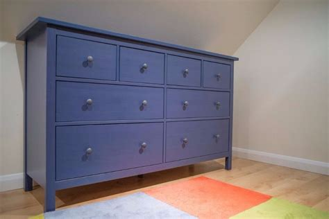 blue chest of drawers blue ikea hemnes chest of 8 drawers in brackley