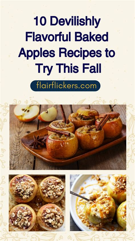 recipes to try 10 devilishly flavorful baked apples recipes to try this fall
