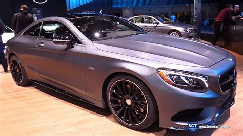 2017 Mercedes S Class S550 Coupe Night Edition -exterior
