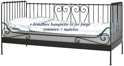 banquette banc fer forg 233 tres clasf