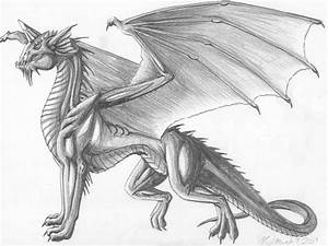 Blue Dragon black and white by creativegoth18 on DeviantArt
