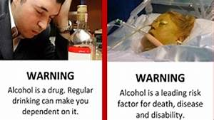 Graphic Labels On Alcohol Could Encourage Moderation