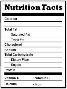 nutrition facts label template 6 best images of blank nutrition fact chart template empty nutrition facts label template egg