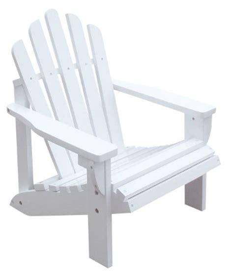 childrens adirondack chair white shine company westport adirondack chair white