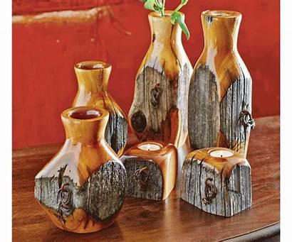 Fence Wood Candle Lathe Turning Posts Vases