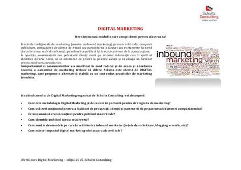 digital marketing course open prezentare digital marketing open