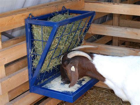 goat hay feeder combination feeder for goats hay grain