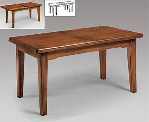 Petite Table Avec Rallonge : mobilier table petite table avec rallonge ~ Teatrodelosmanantiales.com Idées de Décoration