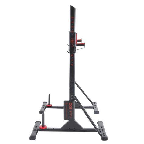 Domyos Repose Barre Musculation Rack 100 Decathlon