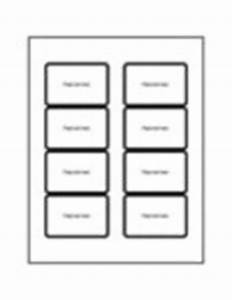 Templates print to the edge clear rectangle labels 8 for Avery label templates for mac pages