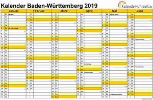 Jahreskalender 2019 A4 : feiertage 2019 baden w rttemberg kalender ~ Kayakingforconservation.com Haus und Dekorationen