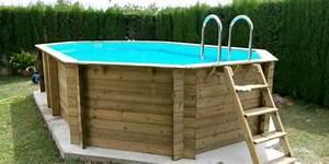Piscines hors sol bois comment choisir sa piscine hors for Awesome prix liner piscine hors sol octogonale 10 piscine hors sol bois octogonal d360cm sunwater liner bleu
