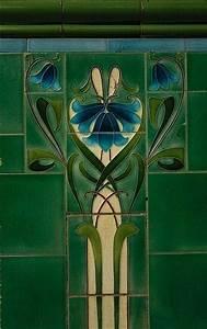 169 best art deco art nouveau inspired images on With art nouveau bathroom tiles