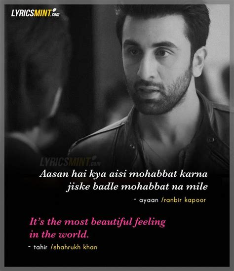 39 thought of meeting srk ranbir kapoor and shahrukh khan s dialogue in ae dil hai