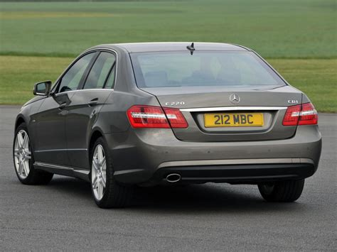 The body styles of the range are: Mercedes-Benz E-class (W212) E 350 CGI (292 HP) 7G-Tronic