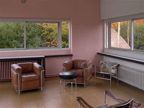 livingroom interiors le corbusier villa savoye part 2 architecture