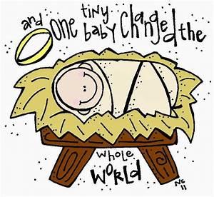 Melonheadz LDS illustrating: Baby Jesus