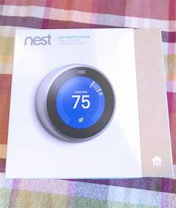 Connected Home Nest Smart Thermostat 2015   Nighthawk