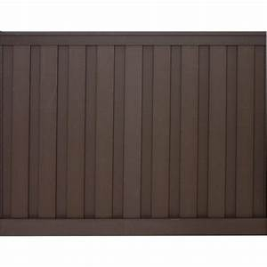 Trex Seclusions 6 ft x 8 ft Woodland Brown Wood-Plastic