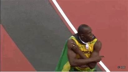 Bolt Usain Moving Jamaican Competition Olympic Gifs
