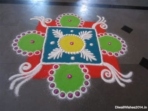 simple rangoli designs images  kids  diwali
