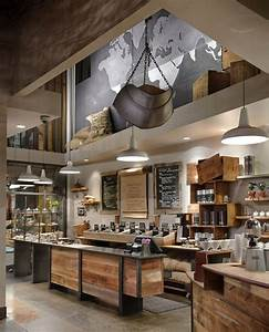 12 coffee shop interior designs from around the world With kitchen cabinet trends 2018 combined with world map wood wall art