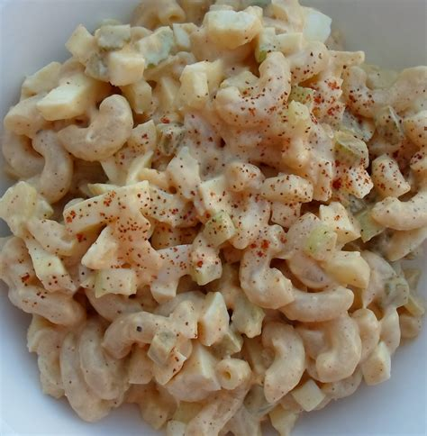 macaroni salad with egg happier than a pig in mud deviled egg macaroni pasta salad