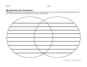 character study organizer freeology
