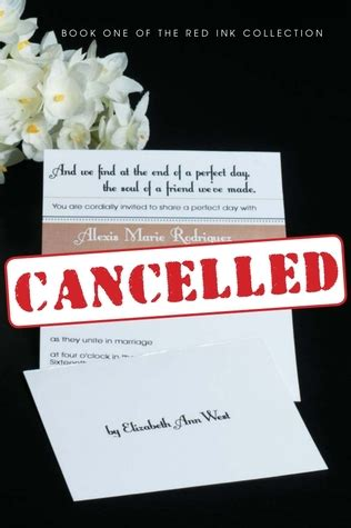 cancelled  red ink collection   elizabeth ann west reviews discussion bookclubs lists