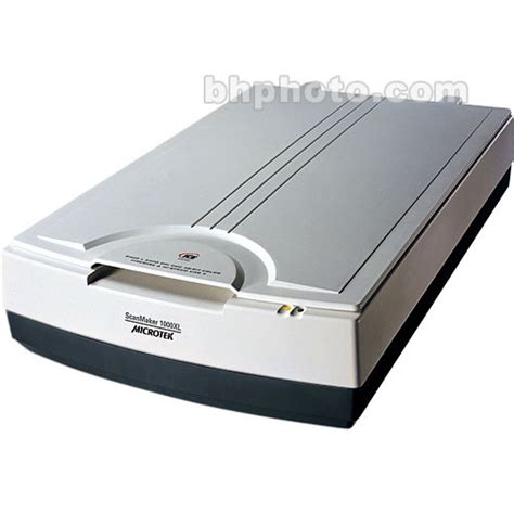 Microtek Scanmaker 1000xl Flatbed Scanner 110803770003 B&h