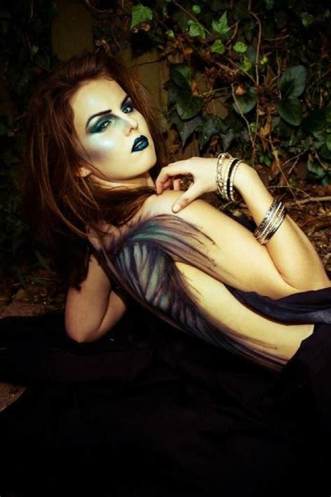amazing  beautiful halloween angel makeup ideas