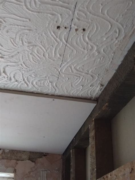 overboarding artex celing advice needed diynot forums