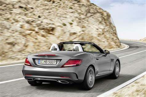 Mercedes Introduces The Slc Roadster  To Replace The Slk