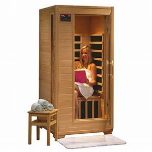1 Mann Sauna : buena vista 1 person heatwave infrared sauna w carbon ~ Articles-book.com Haus und Dekorationen