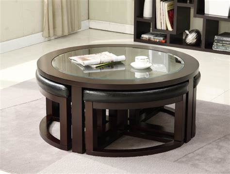 coffee table with ottomans underneath coffee table with seats underneath roy home design