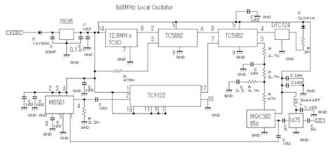 Electronics Technology Phase Locked Loop Pll Oscillator