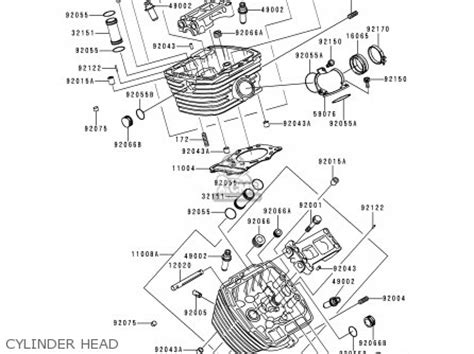 kawasaki vn800c1 vn800 drifter 1999 europe uk fr nr sp parts list partsmanual partsfiche