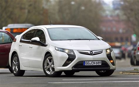 Opel Volt by Opel Dropping Era The European Chevy Volt Because Of
