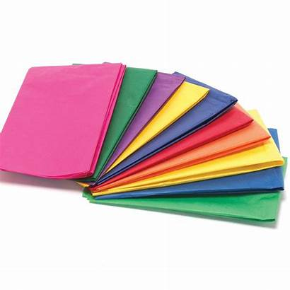 Tissue Paper Pack Bright Colours Sheets Crafts