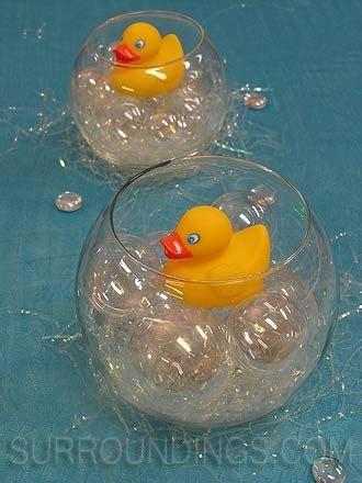 Rubber Ducks Baby Shower Centerpieces