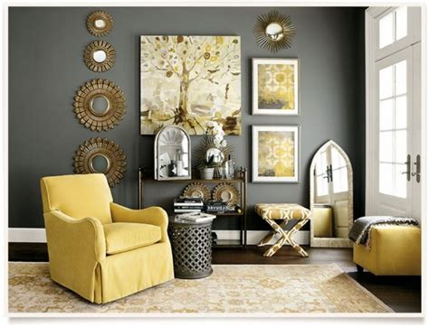 Room Decor Ideas Yellow And Gray by Creative Yellow And Gray Living Room Decor Room Design